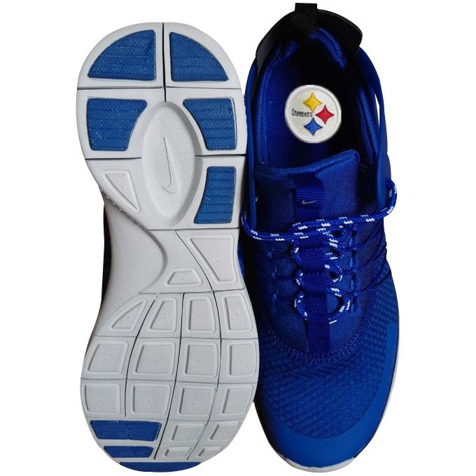 Nike Pittsburgh Steelers London Olympics Blue Shoes